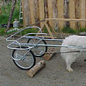 Artic- Y Yard Cart :: Sulky Type